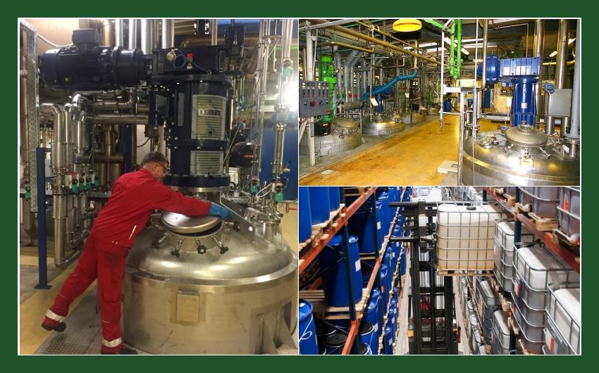 Ursa-Chemie GmbH - Lohnfertigung chemischer Produkte in Montabaur nahe Koblenz, Limburg an der Lahn